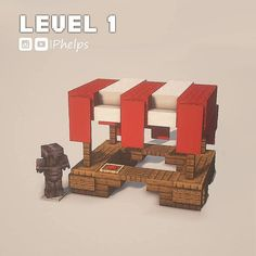I made a market house! What do you think? : Minecraftbuilds Minecraft Market, Minecraft Crafts, Minecraft Designs, Minecraft Ideas, Minecraft Memes, Minecraft Stuff, Minecraft Cottage, Minecraft Castle, Minecraft Skins