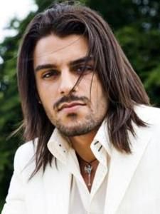 Long Brown Hairstyles for Men