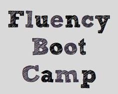 Terrific blog post contains many FREE downloads to help you set up a reading fluency bootcamp in your own classroom!