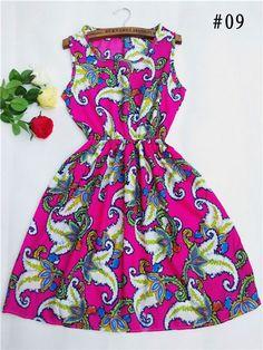 Bohemian beach chiffon dress