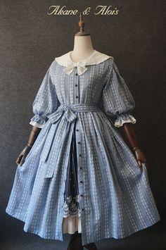 Old Dresses, Cute Dresses, Vintage Dresses, Beautiful Dresses, Vintage Outfits, Sailor Fashion, Lolita Fashion, Cute Fashion, Victorian Fashion