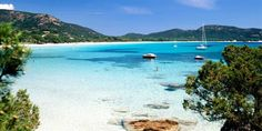 Palombaggia Beach, Porto Vecchio, Corsica, supposed to be one of the best in corsica