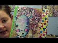 Art Geeks Creature Basics in your Art Journal by Little Raven Ink