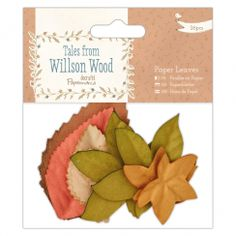 Papermania Paper Leaves (26pcs) - Tales from Willson Wood