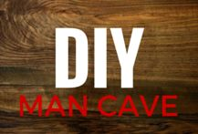29 DIY Man Cave Ideas on a Budget. Ideas for sports man caves, man caves for guys hunt, and ideas for any man cave that is being built on a budget Man Cave Shed, Man Cave Bar, Man Cave On A Budget, Diy On A Budget, Wood Projects For Kids, Diy Projects To Sell, Woodworking Projects That Sell, Diy Pallet Projects, Art Projects