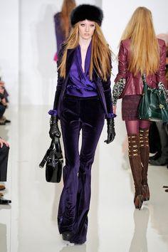 Rachel Zoe FW 2012 - Royal Purple