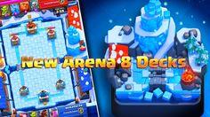 Kartu Dek Terbaik Arena 8 Clash Royale