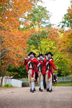 Fall Fifes, Colonial Williamsburg, VA. Credit: Colonial Williamsburg