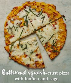 Ready for fall? Squash season means hearty meals full of flavour! Try a new spin on squash with this butternut squash-crust pizza.