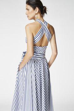 Casual Dresses, Fashion Dresses, Summer Dresses, Look Fashion, Womens Fashion, Fashion Design, Vestidos Carolina Herrera, Outfit Elegantes, Cocktail Vestidos