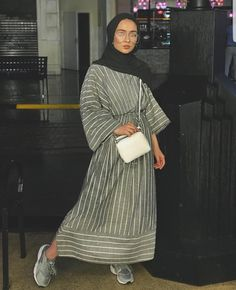 fitness Fashion hijab - Modest Maxi Dresses With Sleeves - Zahrah Rose Hijab Fashion Summer, Modern Hijab Fashion, Street Hijab Fashion, Hijab Fashion Inspiration, Islamic Fashion, Abaya Fashion, Muslim Fashion, Modest Fashion, Fashion Outfits