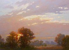 Luminosity by Sara Linda Poly Oil ~ 30 x 40