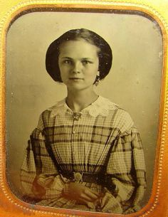 1 9 Ambrotype Creole Teenage Girl American Beauty Louisiana Photograph Strother   eBay