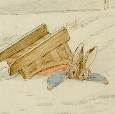 He tipped. Children's Book Illustration, Woodland Illustration, Beatrix Potter Illustrations, Susan Wheeler, Peter Rabbit Nursery, Beatrice Potter, Peter Rabbit And Friends, Benjamin Bunny, Jolie Photo