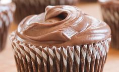 Lightened Chocolate Cupcakes from America's Test Kitchen
