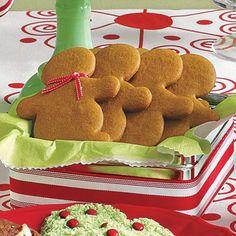 Easy Christmas Cookies: Gingerbread Cookies