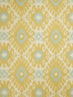 Home Decor Print Fabric- Jaclyn Smith Animal Life Lemon Zest