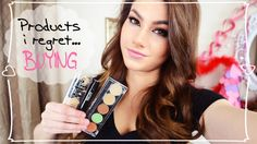 Products I Regret Buying! Kayleigh Noelle on Youtube #makeup #beauty #hair #skincare