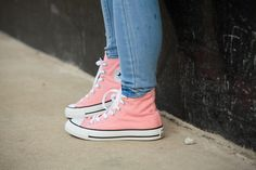 Pink Converse are the best Converse
