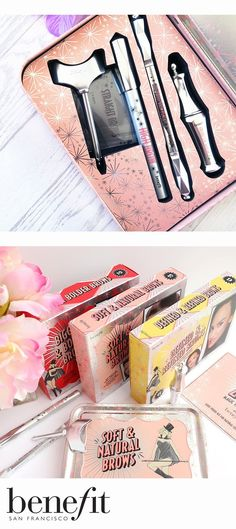 Natural-looking brows definition with the Soft & Natural Brows goof-proof kit. Perfect Christmas treat for any Benebabe xx