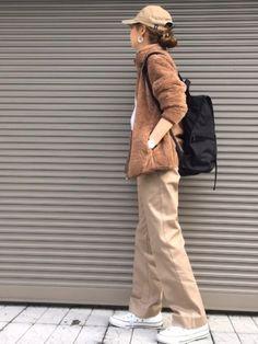 UNIQLOのメンズの フリース♡ カラーが可愛いっ M着用です♡ Instagram➡️chi