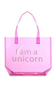 Primark - Pink I Am A Unicorn Beach Bag