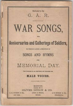 hymns for memorial day service