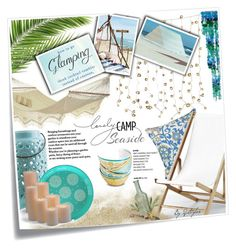 """""""Contest Glamping"""" by q-styles ❤ liked on Polyvore featuring interior, interiors, interior design, home, home decor, interior decorating, Post-It, Pier 1 Imports, Anna Kasper and Mudhut"""