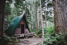 ourwildways:  Elsay Lake Cabin by ben giesbrecht on Flickr.