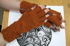 Ravelry: Masala Fingerless Gloves pattern by Moira Engel