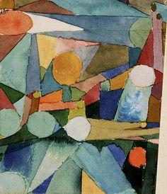 Paul Klee Color Shapes, 1921