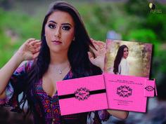 Convite 15 naos Luciana(empastado capa dura, hotstamping)