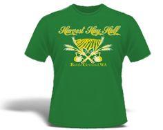 The Harvest Hay Half Tech T-shirt on July 21, 2013