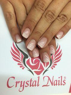 #nails # Crystal nails # Nägel # Color Gel # nagelstudio # nail art # Muster #gel lac # Gel lak # Gel Nägel #baby boomer #