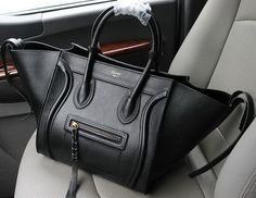 celine luggage phantom bags original leather 16995 88033 grey
