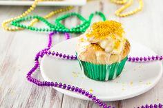 King Cake Cupcakes by foodiebride, via Flickr