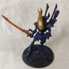 Aeldari WiP: Using a Midwinter Minis process - Stepping Between Games Model One, Water Me, Color Effect, Accent Colors, Minis, Things To Think About, Games, Colour Effect, Gaming