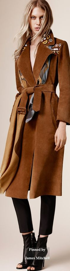 Burberry Prorsum Collection  Pre-Fall 2015 \\ c
