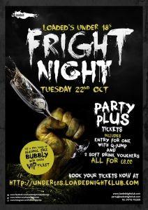 Fright Night at Loaded