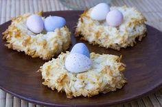 Easter Bird Nest Cookies