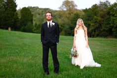 """The Nashville """"Country Chic"""" wedding of musicians Holly Williams to Chris Coleman.   Photos: TecPetaja Photography"""