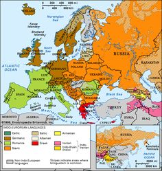 Indo-European languages. With migration, changes in language occured, becoming less and less diverse the farther humans migrated from southwestern Africa. As populations settled, so did the languages they spoke, creating what we now know as Indo-European languages.