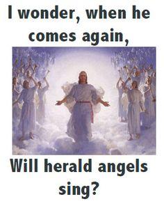 I wonder when He comes again - Song Flipchart