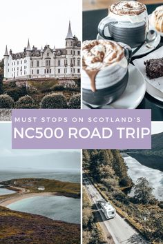 Discover the must stop NC500 locations from the beautiful Dunrobin Castle to the iconic John O'Groats Inn. #nc500 #northcoast500scotland #northcoast500 #northcoast500beaches #northcoast500roadtrips #scottishhighlands #scotlandroadtrips #dunrobincastle #locheriboll #nc500scotland #nc500mustsee Scotland Road Trip, Scotland Travel, North Coast 500 Scotland, Castles To Visit, Scottish Castles, Scottish Highlands, Places Around The World, Places To See, Adventure