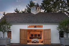 Barn Style Garage For Charles Haus Holzhaus Garage Garage Exterior, Barn Garage, Garage Plans, Garage Shop, Dream Garage, Barn Plans, Garage Workshop, Garage Ideas, Garages