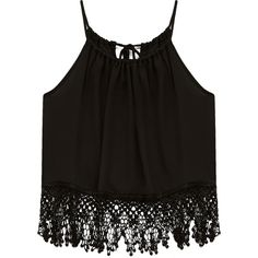 FOREVER 21 Mysterious Moment Halter Top found on Polyvore