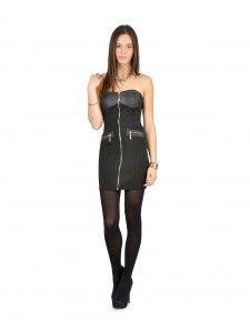 Tu seras belle à couper le souffle quand tu porteras cette robe effet cuir! Disponible chez Ardène au Carrefour Frontenac.
