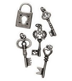 Awesome charms for steampunk stuff!!