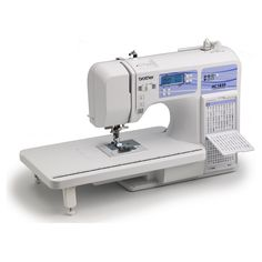 Brother HC1850 Computerized Sewing and Quilting Machine with 130 Built-in Stitches, 9 Presser Feet, Sewing Font, Wide Table, and Instructional DVD. Rating 4.6/5 stars, 525 customer reviews