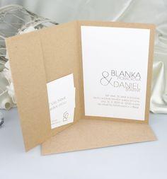 Svatební oznámení - G2057 Petra, Our Wedding, Place Cards, Place Card Holders